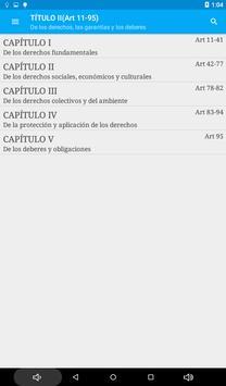 Constitución de Colombia screenshot 10
