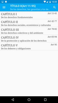 Constitución de Colombia screenshot 2