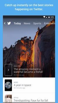 Twitter for Android TV apk imagem de tela