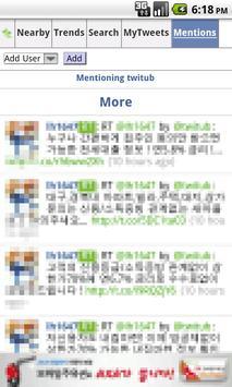 Twitub apk screenshot