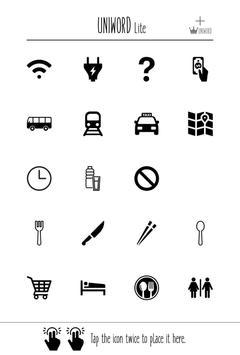 UNIWORD Lite_travel,dictionary apk screenshot