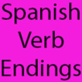 Spanish Verb Ending Practice icon