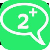 Two WhatsApp Accounts icon