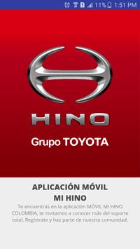HINO Colombia poster