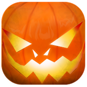 Dino starving helloween icon