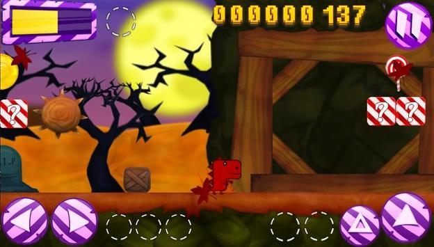 Dino starving helloween screenshot 1