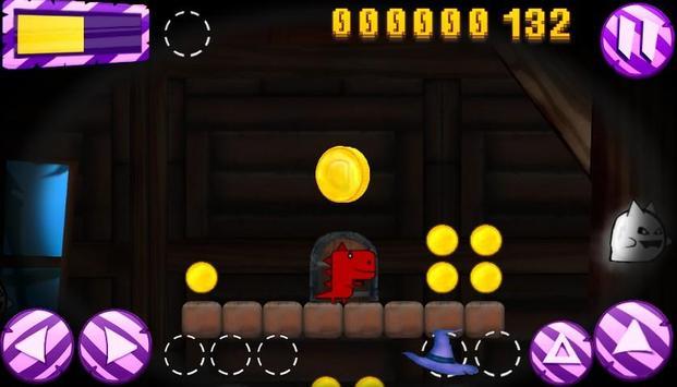 Dino starving helloween screenshot 2