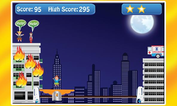 Roof Jumper Fire Rescue screenshot 4