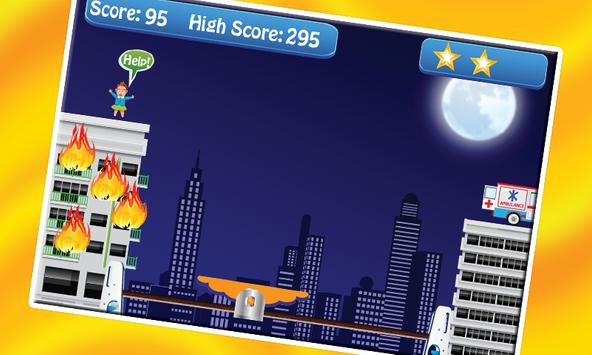 Roof Jumper Fire Rescue screenshot 1