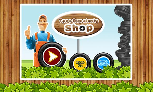 Tyre Repair Shop – Garage Game screenshot 3