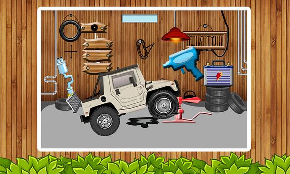 Tyre Repair Shop – Garage Game screenshot 1
