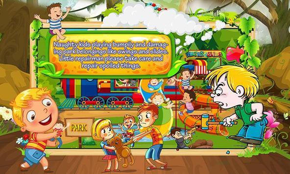 Water Slide Repair Game screenshot 9