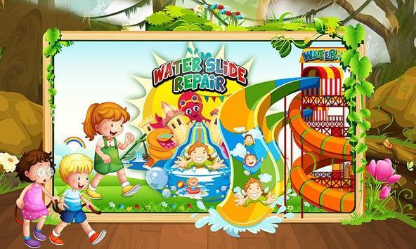 Water Slide Repair Game poster