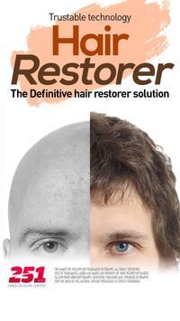 Hair Restorer - Prevent hair loss poster