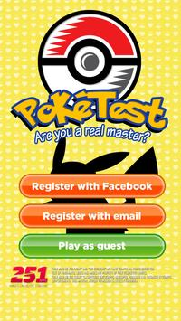 Poke Test: Pokemon Quiz poster