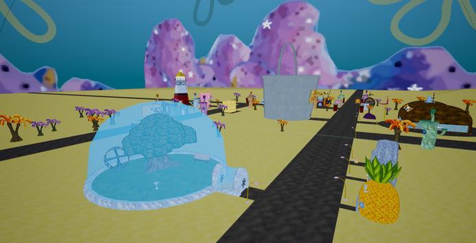 Bikini-Bottom in 3D (Sponge Bob) screenshot 1