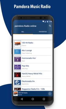 New Pamdora Music RAdio - Player 2018 screenshot 15