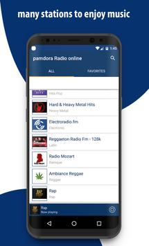 New Pamdora Music RAdio - Player 2018 screenshot 1