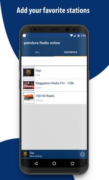 New Pamdora Music RAdio - Player 2018 screenshot 2