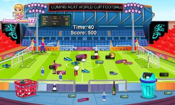 Football Stadium Cleanup screenshot 2