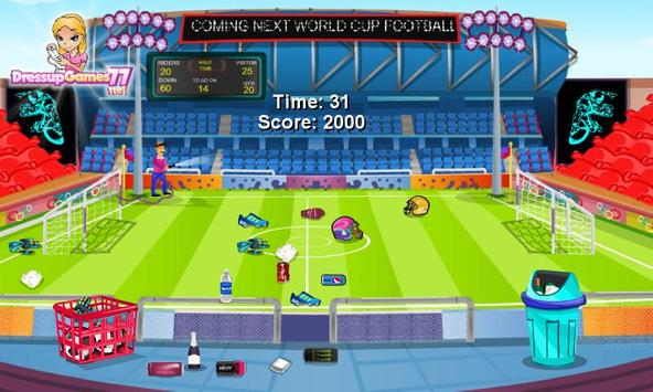 Football Stadium Cleanup screenshot 3