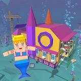 Mermaid Craft: Princess House Design Games