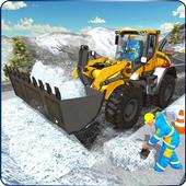 Snow Heavy Excavator Simulator 2019 icon