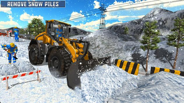 Snow Heavy Excavator Simulator 2019 screenshot 11