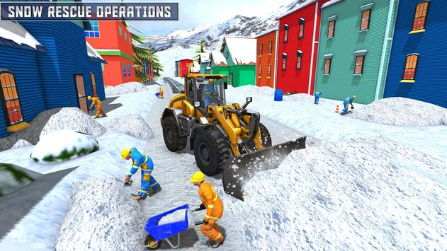 Snow Heavy Excavator Simulator 2019 screenshot 12