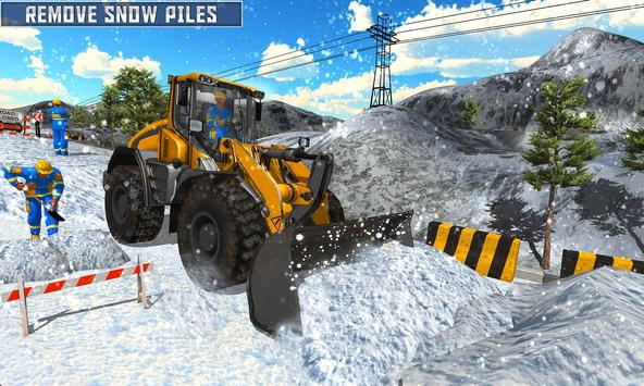 Snow Heavy Excavator Simulator 2019 screenshot 3