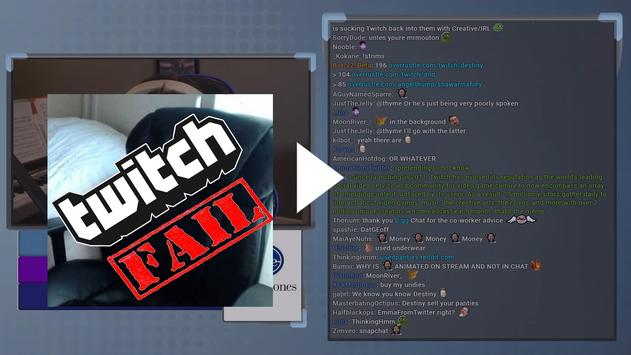 ULTIMATE Twitch Fails Compilation advice tips apk screenshot