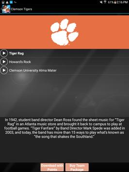 COLLEGE FIGHT SONG RINGTONES – OFFICIAL screenshot 13