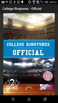 COLLEGE FIGHT SONG RINGTONES – OFFICIAL screenshot 1