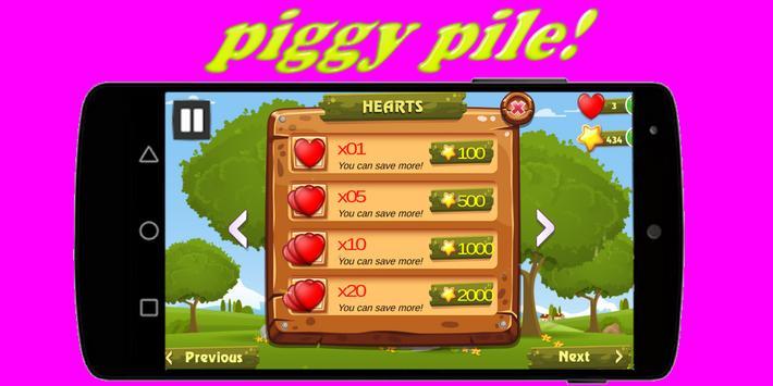 piggy pile! screenshot 1