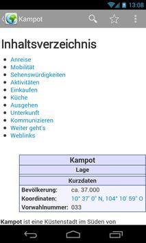 Offline Reiseführer apk screenshot