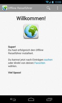 Offline Reiseführer poster