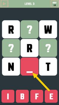 Word Teasing Puzzle screenshot 1