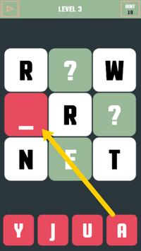 Word Teasing Puzzle screenshot 2
