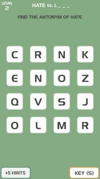 Antonym Game screenshot 2