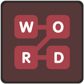 Connect a word icon