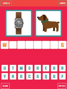 Guess the word - 2 pictures 1 word screenshot 5