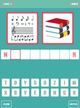 Pictures to word quiz screenshot 6