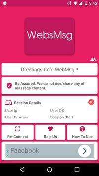 WebsMsg poster