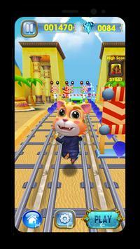 Cat Runner-Online Rush Subway Sonic Talking Pet poster
