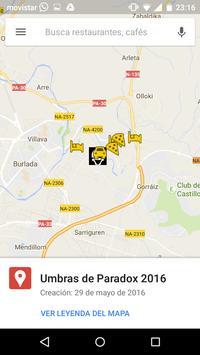 App de Umbras apk screenshot