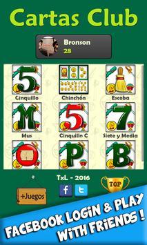 Cartas Club screenshot 1