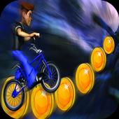 Jungle Castle 3D Bike Run icon