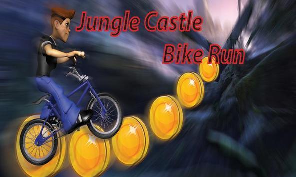 Jungle Castle 3D Bike Run poster