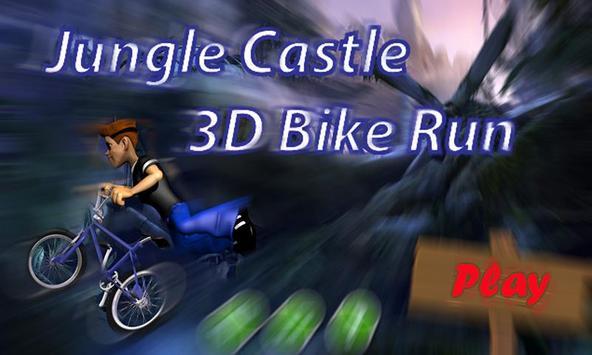 Jungle Castle 3D Bike Run screenshot 1