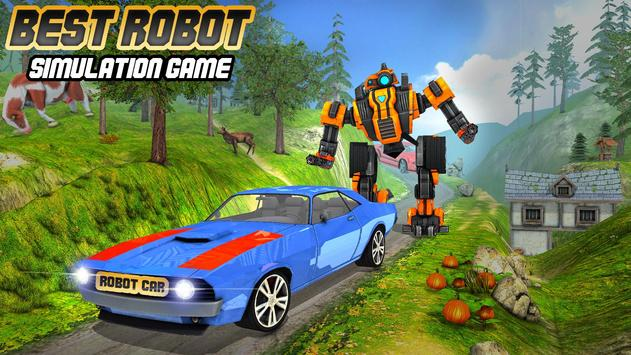 Offroad Car Driving Simulator – Robot Driver 2018 for Android - APK